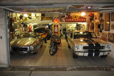 A Inside Look at Bruce Meyer's Private Garage