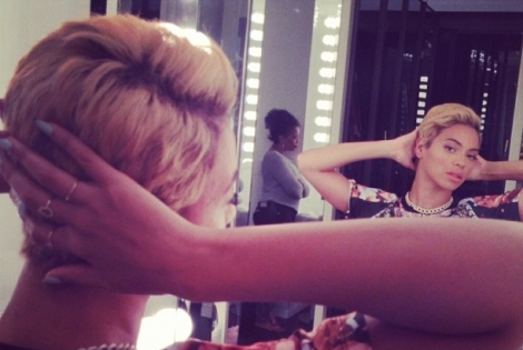 Beyonce Cuts Off Hair, Check Out Her DOPE New Cut!