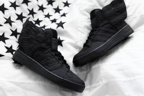 "Adidas JS Wings 2.0 ""Black Flag"" x A$AP Rocky"