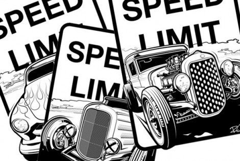 Kickstarter: Speed Limit Sign Collection