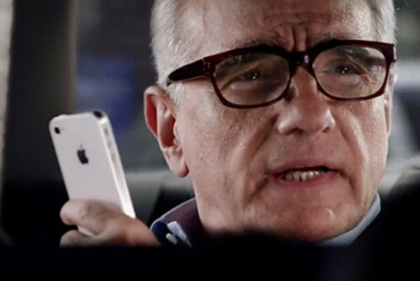 Martin Scorsese made an iPhone ad