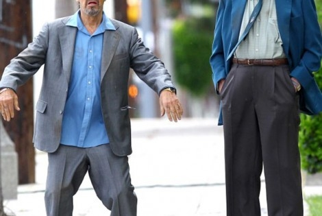 Al Pacino & Christopher Walken wear high pants and get high