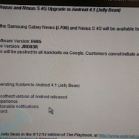 Sprint sending Jelly Bean to Samsung Galaxy Nexus and Nexus S 4G tomorrow?