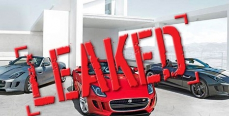 Leaked: Jaguar F-Type – Image confirmed to be production version of new roadster