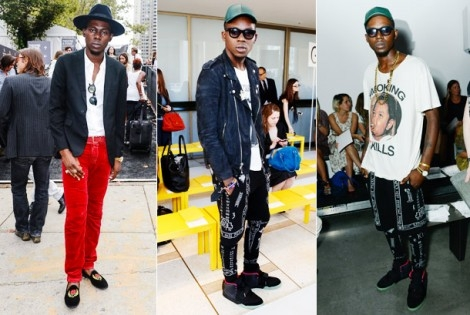 Theophilus London Brought Swag to Fashion Week NYC