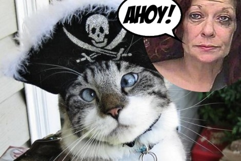 "Drunk woman shouting ""I'm Jack Sparrow!"" hijacked a ferry on Talk Like a Pirate Day"