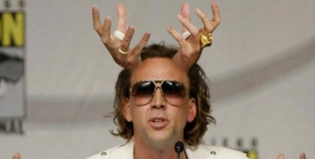 Holy Sh*t. Nic Cage in talks to star in a Left Behind reboot.