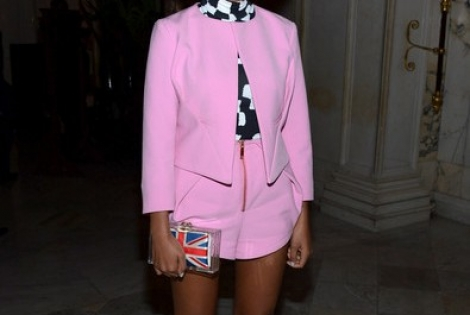 Solange Knowles Steps Out in Style in NYC