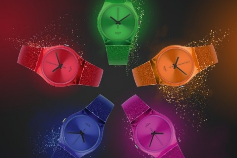 Winter 2012-Swatch Unwraps Deeps Shine Collection: Glitter, Gloss & Eye-Popping Colors