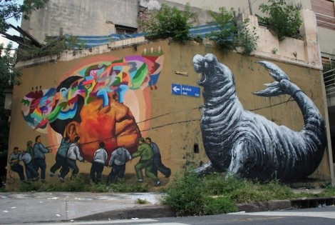 Ever and Roa in Buenos Aires