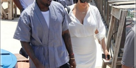Kim Kardashian, Kanye West, Will Smith and Duane Martin Go on a Couples Retreat