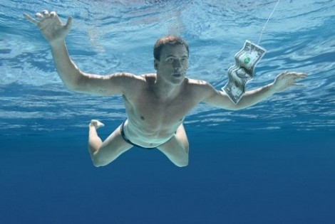 Ryan Lochte Recreates Famous Nirvana Album Cover (Video)