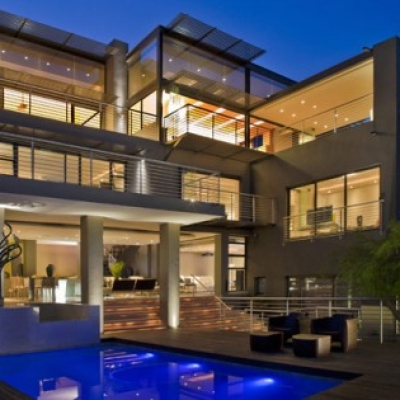 Luxurious Living in Johannesburg, South Africa: House Bassonia