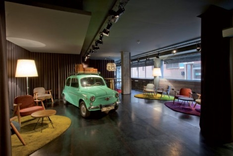 Charm of the Spanish 60s: Chic & Basic Ramblas Hotel, Barcelona