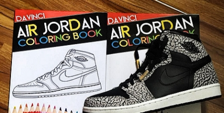 The First Air Jordan Coloring Book Has Arrived!