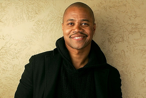 Cuba Gooding Jr. Attempts to Eat Cell Phone in Miami
