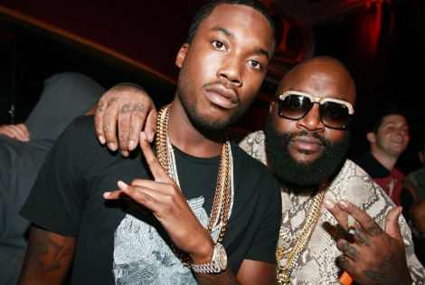 Rick Ross Wasn't feeling Meek Mill's Relationship With Nicki Minaj