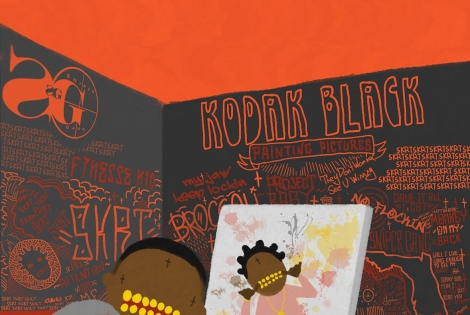 "Stream Kodak Black's Debut Album ""Painting Pictures"""
