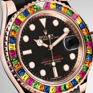 Rolex's Yacht-Master 40 Has a Candy-Colored Gem Bezel