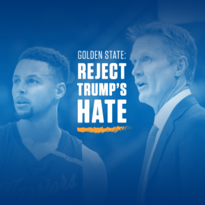 Petition lobbies Golden State Warriors to skip potential White House visit