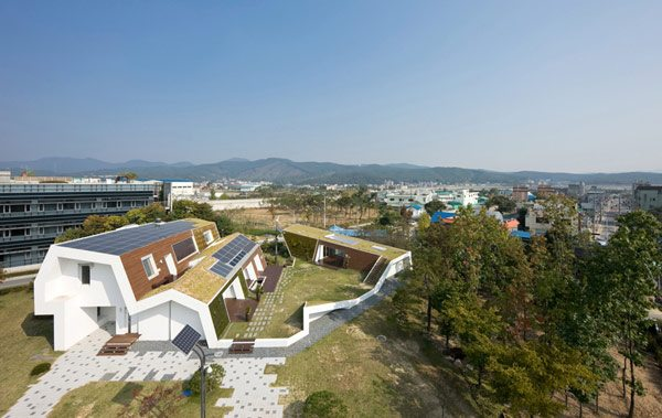 Green Residence 5 95 Green Technologies Combined to Create the Ultimate Sustainable Home in South Korea