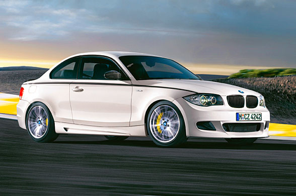 White BMW 1 Series