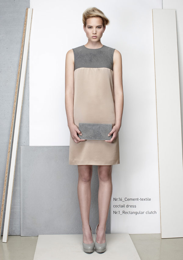 concrete fashion line 8 Taking Industrial Materials to the Next Level: IVANKA Concrete Fashion Line