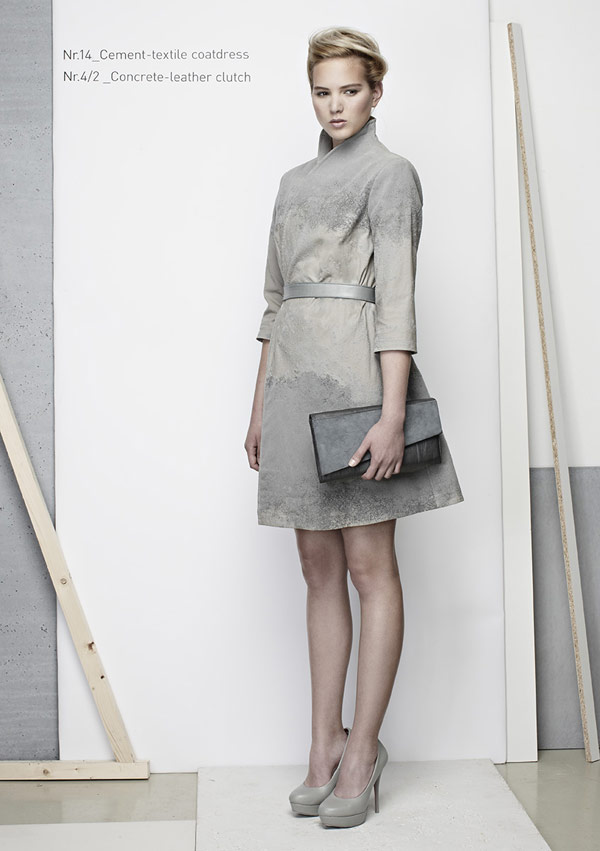 concrete fashion line 7 Taking Industrial Materials to the Next Level: IVANKA Concrete Fashion Line