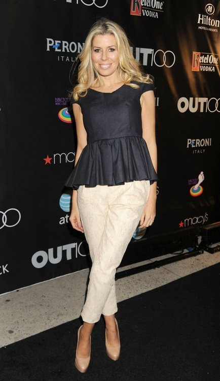 Aviva Drescher attending the OUT Magazine and Buick Celebrate The OUT100 at Milk Studios.  Photo Credit: Demis Maryannakis, PacificCoastNews.com