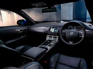 Jaguar XFR-S interior