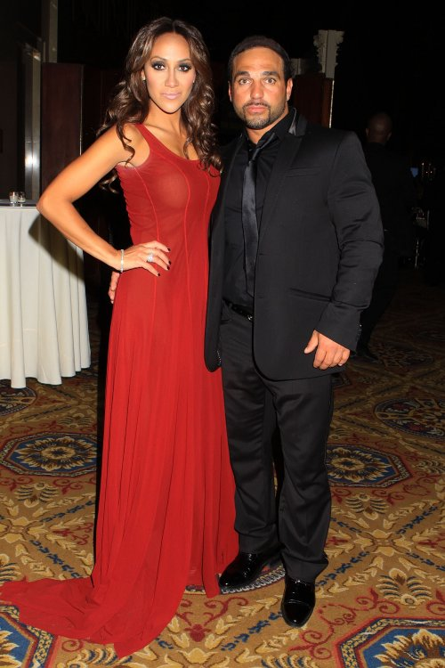 The Real Housewives of New Jersey stars Melissa Gorga and Joe Gorga attend the 2012 Christopher & Dana Reeve Foundation's A Magical Evening benefit at Cipriani Wall Street in NYC.