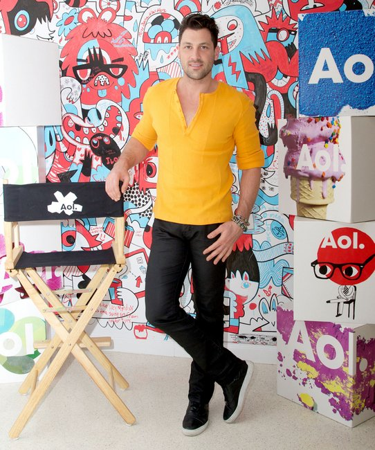 DWTS pro Maksim Chmerkovskiy attends AOL's new national video open call event.  Photo Credit: Alberto Reyes/WENN.com