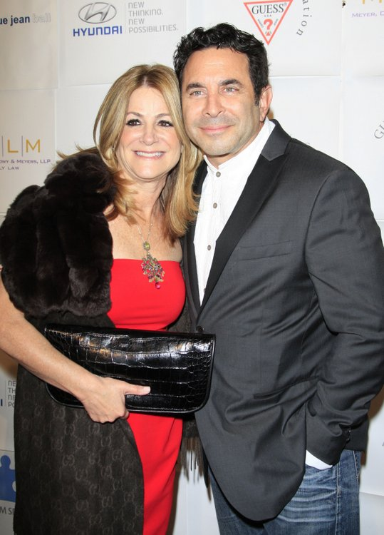 Paul Nassif attends the Autism Speaks 'Blue Tie – Blue Jean Ball' at The Beverly Hilton Hotel with Lisa Meyer.  Photo Credit: Starbucks/WENN.com