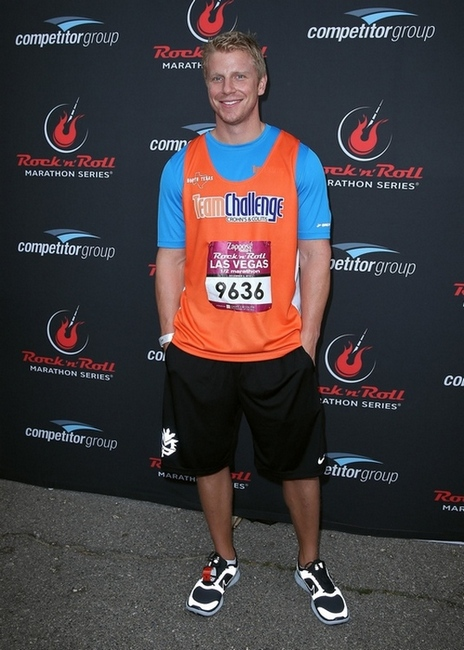 Sean Lowe participates in the 2012 Zappos.com Rock 'n' Roll Marathon & 1/2 Marathon, benefiting the Crohn's & Colitis Foundation of America in Vegas.  Photo Credit: Judy Eddy/WENN.com