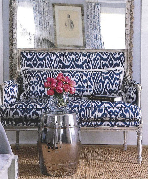 ikat How Does the World of Fashion Influence The World of Interiors?