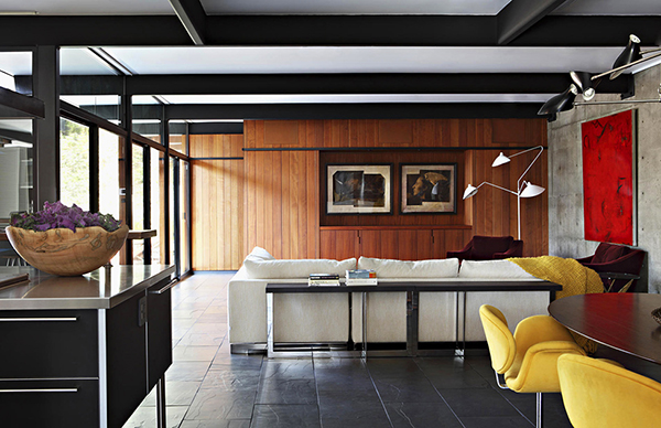 Colours and Wood Gorgeous Sense of Style: Luxury Mansion in L.A.