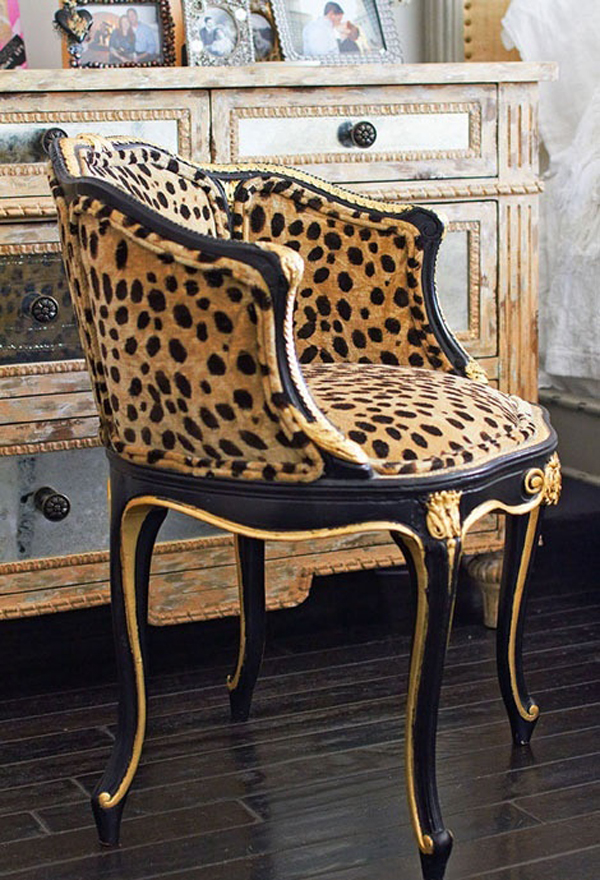 leopard print How Does the World of Fashion Influence The World of Interiors?