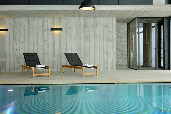 Wiesergut ski hotel swimming pool Charming Ski Retreat Where Nature Takes Center Stage: Wiesergut Hotel
