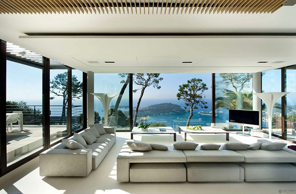 Holiday Villa Baie Cote dAzur interior Holiday Teasing: Impressive Villa Baie on the French Riviera