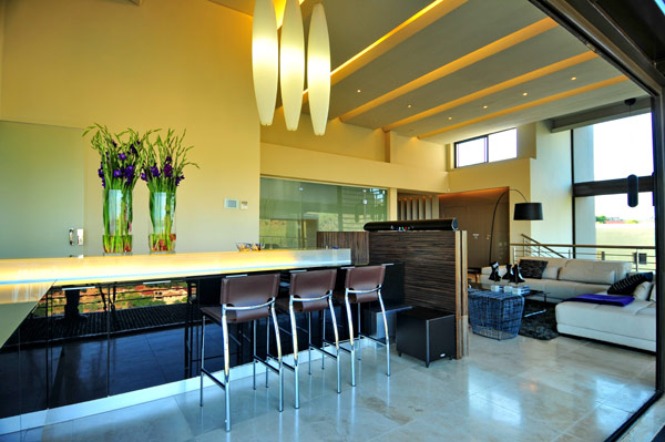modern residence South Africa 23 Luxurious Living in Johannesburg, South Africa: House Bassonia