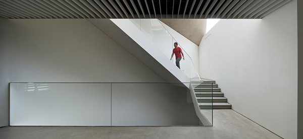 Stairs3 Steel Contemporary Shaped Art Centre in South Korea