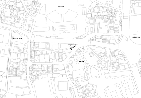 Site Plan2 Steel Contemporary Shaped Art Centre in South Korea