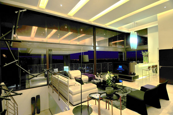 modern residence South Africa 17 Luxurious Living in Johannesburg, South Africa: House Bassonia