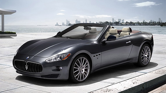 The Maserati GranCabrio, the first four-seater convertible in the Trident carmaker's history, will make its worldwide debut on September 15 at the upcoming Frankfurt Motor Show. The introduction of the GranCabrio - the Trident's third prong - completes Maserati's product line-up that now consists of three different families of models: Quattroporte, GranTurismo, GranCabrio.  The GranCabrio represents the very essence of Maserati in terms of open-top cars. It's a Maserati in the purest sense of the word: from the unmistakable style by Pininfarina to the spacious interior, from the craftsmanship of each detail to the driving pleasure and performance. The Maserati GranCabrio enriches all five senses in a shared open-air experience, without sacrificing comfort and performance. A dream car designed and built for men and women who love to live life in an understated - though sophisticated - manner. Like all the made in Maserati open-top convertibles: special cars aimed at refined connoisseurs.