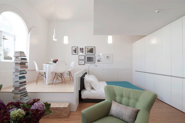 modern apartment 71 Original Mix Between Small Hotel and Private Apartment Rental: Flattered
