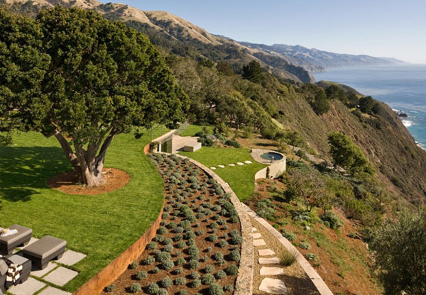 Coastlands House 13 Sustainable Home for Retired Couple in Big Sur, California: Coastlands House