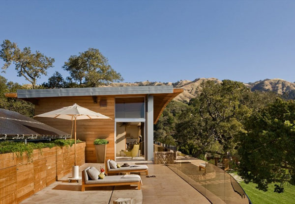 Coastlands House 12 Sustainable Home for Retired Couple in Big Sur, California: Coastlands House
