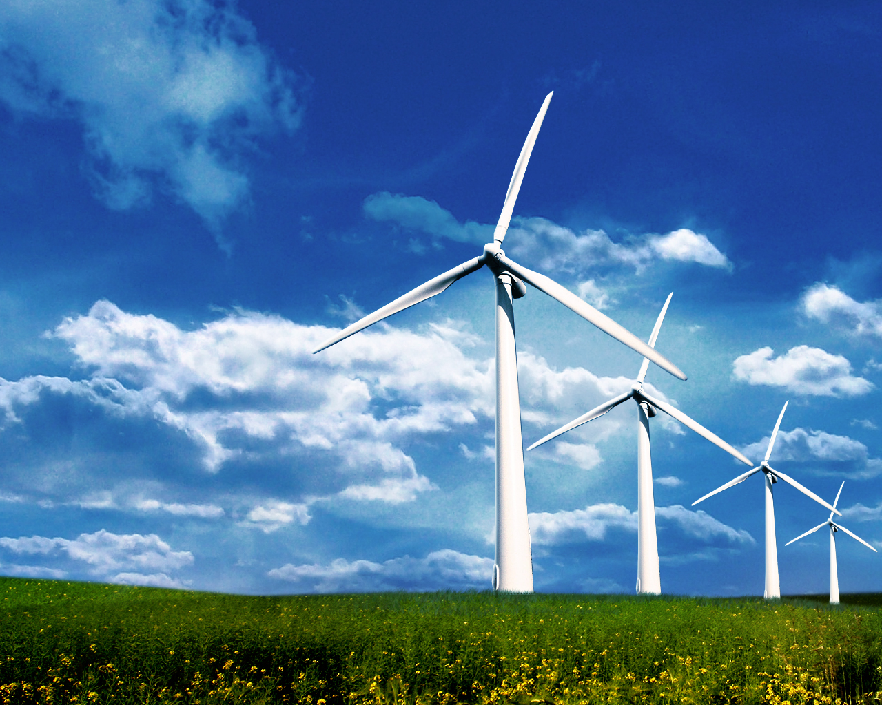 wind turbines17 5 Smart Home Technologies That Will Save You Money