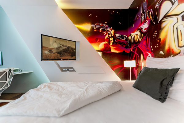 design boy bedroom Inspiring Bedrooms for Boy and Girl in Modern Slovakian Crib
