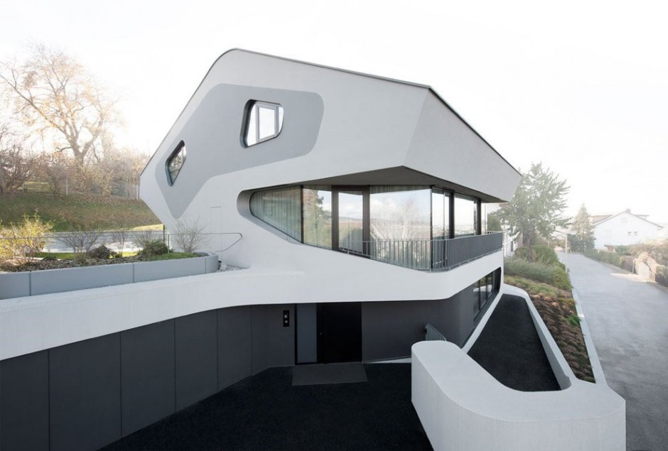 OLS House 71 Sustainable and Futuristic Architecture in Stuttgart: OLS House